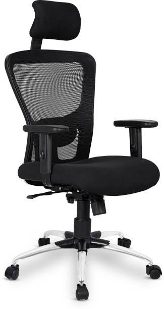SAVYA HOME Beatle Adjustable Arms Mesh Office Adjustable Arm Chair