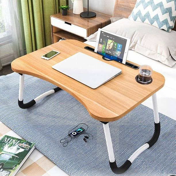 Sarvatr Foldable and Portable Laptop Table Wood Portable Laptop Table