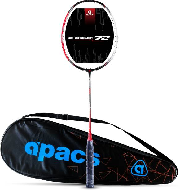 apacs Z-Ziggler 72 (72g, Aero-Dyna Frame) Black, Red Unstrung Badminton Racquet