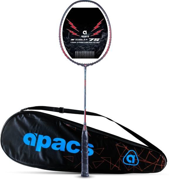 apacs Z-Ziggler 75 Super Light (75g, 30 LBS) Blue Unstrung Badminton Racquet