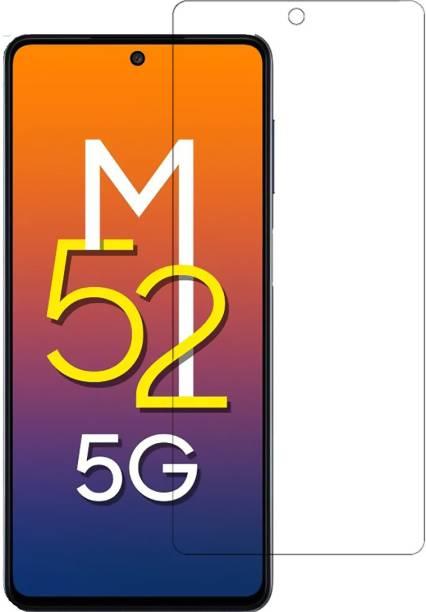 Flipkart SmartBuy Tempered Glass Guard for Samsung Galaxy M52 5G, Samsung Galaxy M52
