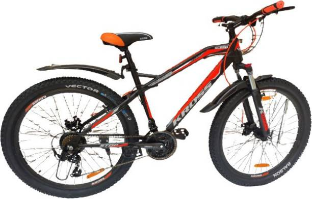 Kross Xceed Double Disc Brake Front Lockout Suspension Bicycle MTB Bike 27.5 T Mountain Cycle