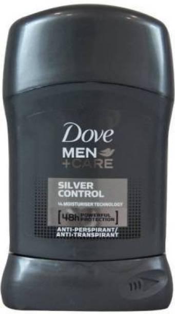 DOVE SILVER CONTROL Deodorant Stick  -  For Men
