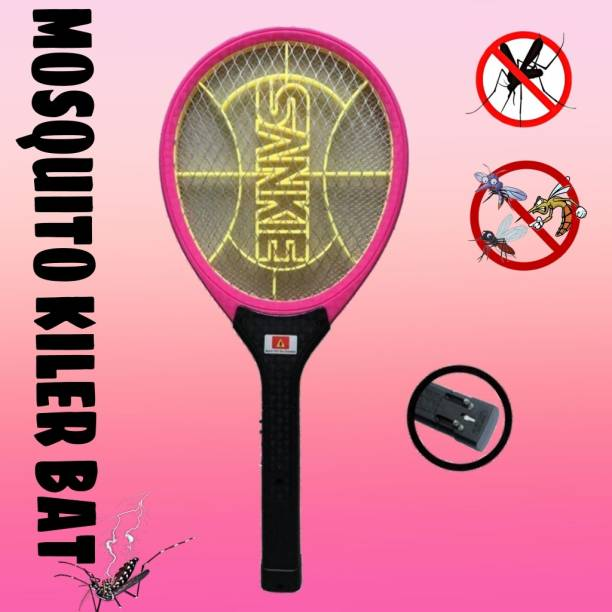 DPM AK-305 Heavy Duty Mosquito Bat/ Mosquito Racket RECHARGEABLEI MOSQUITO SWATTER NET HIGT CAPACITY BATTERY Electric Insect Killer