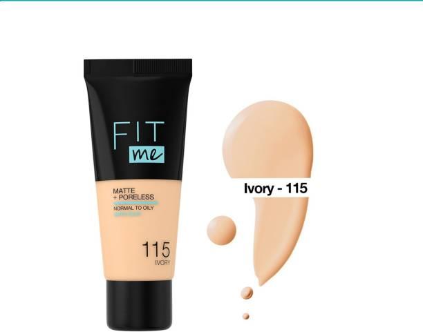 Lenon Beauty Fit Me Matte+Poreless Liquid Tube  Foundation