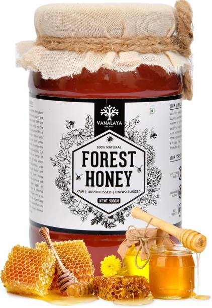 Vanalaya Forest Raw Honey Unprocessed Unpasteurized Pure natural organic honey for weight loss