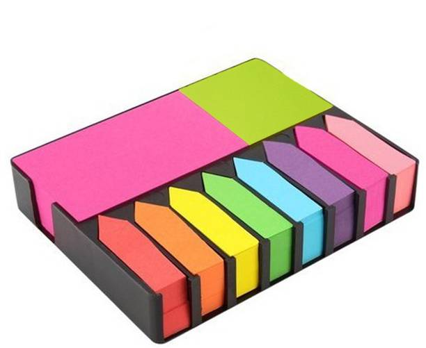Shimo Sticky Notes 200 Sheets Regular, 10 Colors