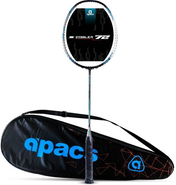apacs Z-Ziggler 72 (72g, Aero-Dyna Frame) Black, Grey Unstrung Badminton Racquet