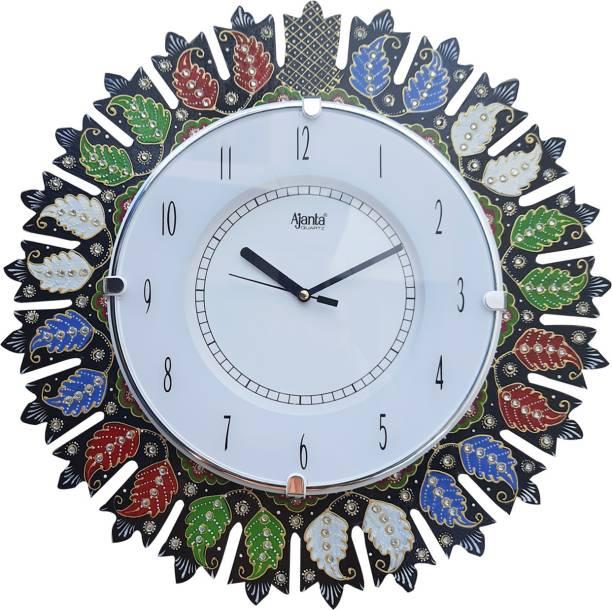 AJANTA Analog 38 cm X 38 cm Wall Clock