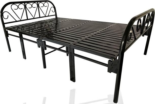 Sahni Sahni portable furniture Metal Double Bed