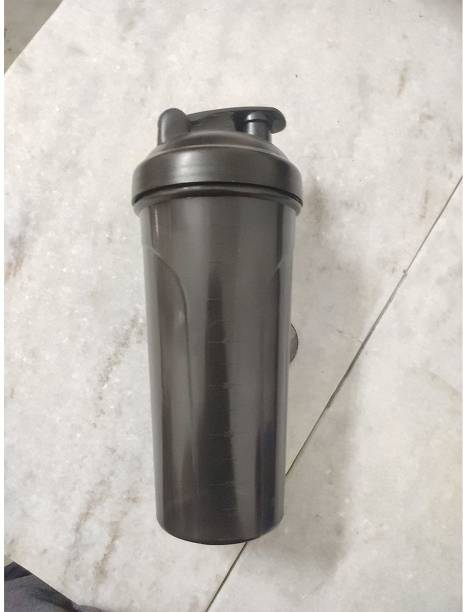 Foxsus Heavy Duty Plastic Protein Gym Shaker Bottle, 700 ml, (Color May Vary) 700 ml Shaker