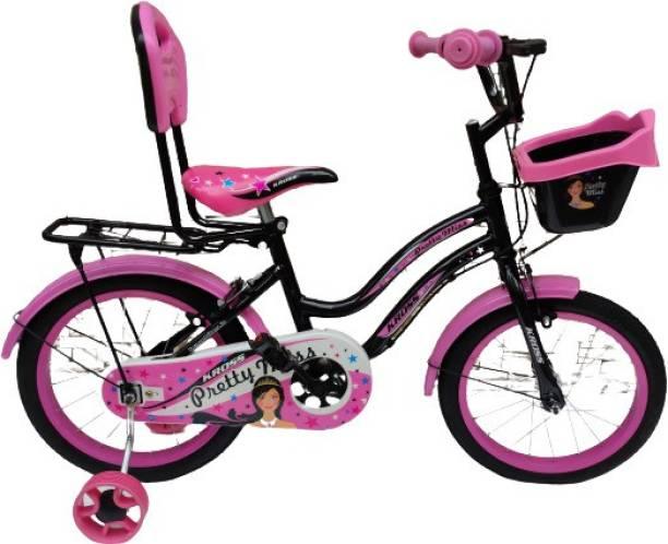 Kross Pretty Miss 16T SS Pink Black 16 T BMX Cycle