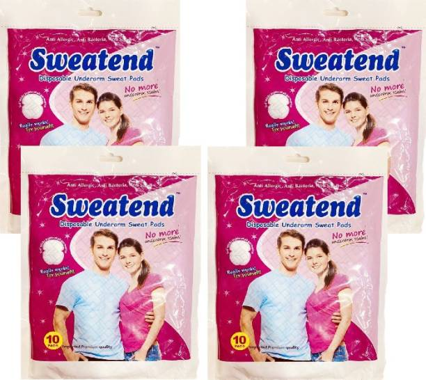 ARTH RETAIL HOUSE Sweat Pads Disposable Underarm Sweat Pads (Pack of 3) Sweat Pads (40 Pads) Sweat Pads
