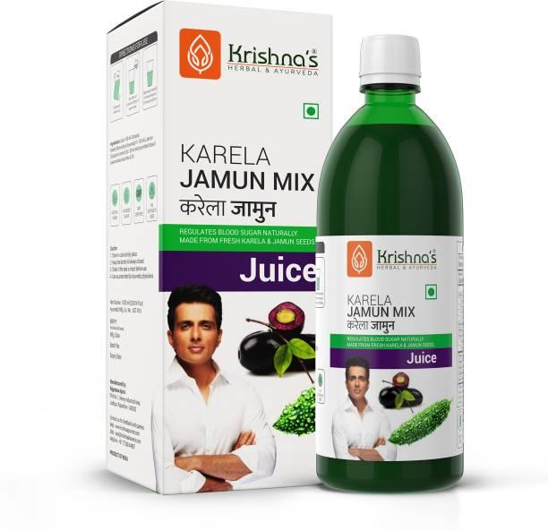Krishna's Herbal & Ayurveda Karela Jamun Mix Juice