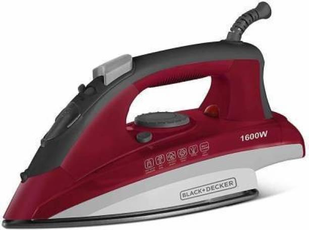 Black & Decker 1601IN-(RED) 1600 W Steam Iron