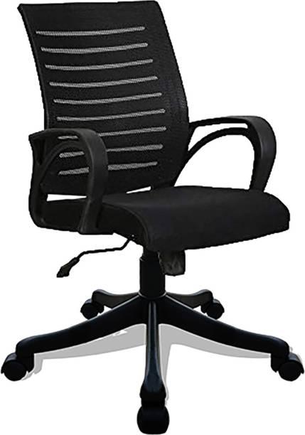SAVYA HOME ZOOM Fabric Office Arm Chair