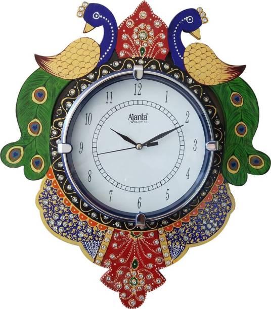 AJANTA Analog 35 cm X 30 cm Wall Clock