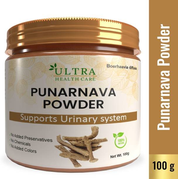 Ultra Healthcare Punarnava Powder With Goodness of Natural Punarnava Extract known for Good Gut Health & for Healthy Appetite, Helps for Heart and Urinary Health