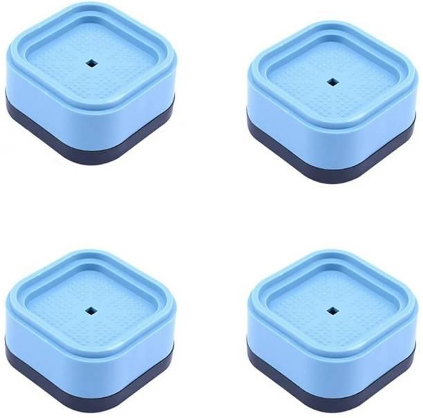 Dhruv Mart 4PCS Anti-Vibration Mat Washing Machine Vibration Damper Non-Slip Washer Shock-Absorbing Pad Washing Machine Mat for Dryer Washing Machine Table Desk Dishwash Bar