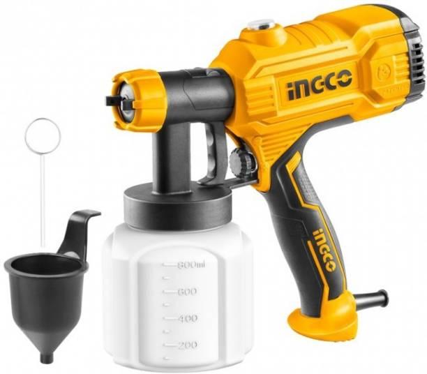 INGCO Metal 450W Hvlp Floor Based Electric Paint Spray Gun SPG3508 HVLP Sprayer