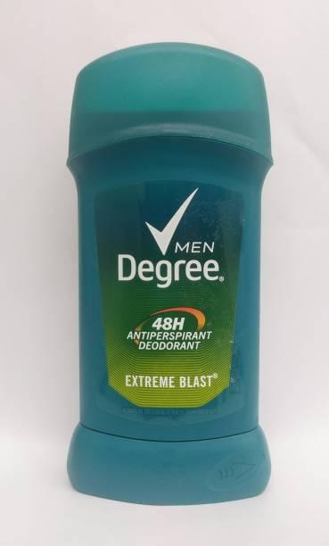 Degree Men Extreme Blast All Day Protection Anti-Perspirant Deodorant for Men 2.7 Oz Deodorant Stick  -  For Men