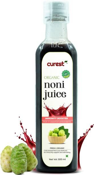 CUREST Noni (Kokum ) Juice Rich in Antioxidants, Boosts Energy, Builds Immunity, Natural Detoxifier For Men & Women - 500 mL