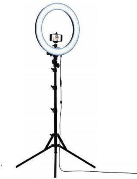 """nehamaps 10"""" ring light with 2.1 meter tripod stand light stand video stand Ring Flash"""