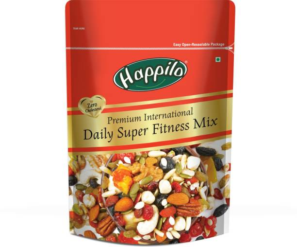 Happilo Premium International Daily Super Fitness Mix Seeds Assorted Seeds & Nuts