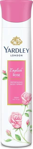 Yardley London Rose Body Spray  -  For Women