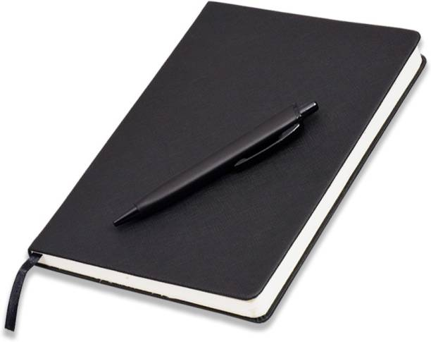 COI Black A5 Personal Diary Journal for Designer   Architect   Engineer with Pen A5 Diary RULED 192 Pages