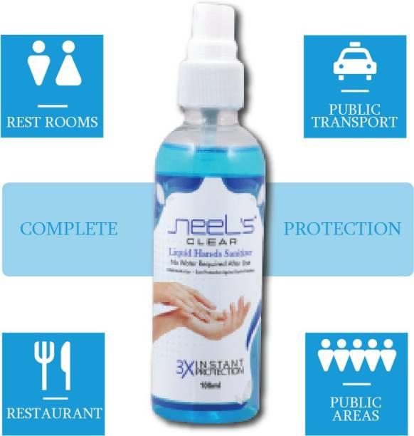 Neels  100ML (Pack Of 1) Hand Sanitizer Pump + Refill