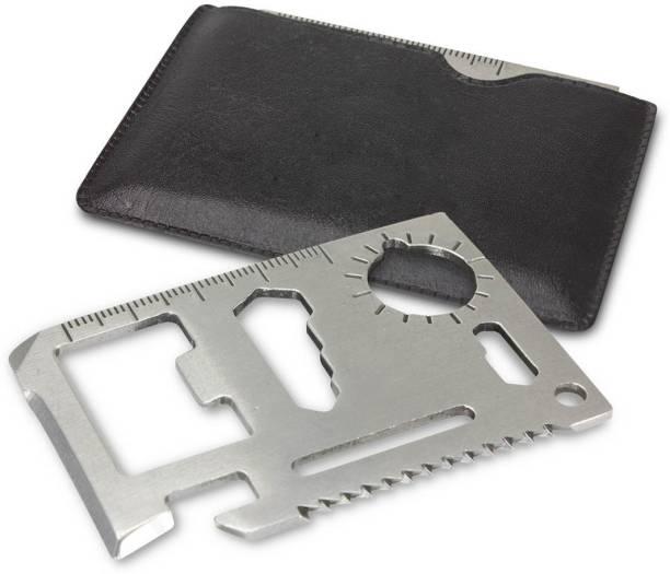 Protos 11 In 1 Pocket Visiting Card Survival Kit Multi Tool