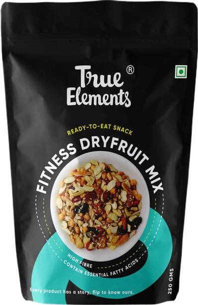 True Elements Fitness Dry fruit Mix 250gm Assorted Seeds & Nuts