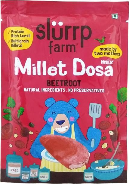 Slurrp Farm Millet Dosa Mix Beetroot 150 g