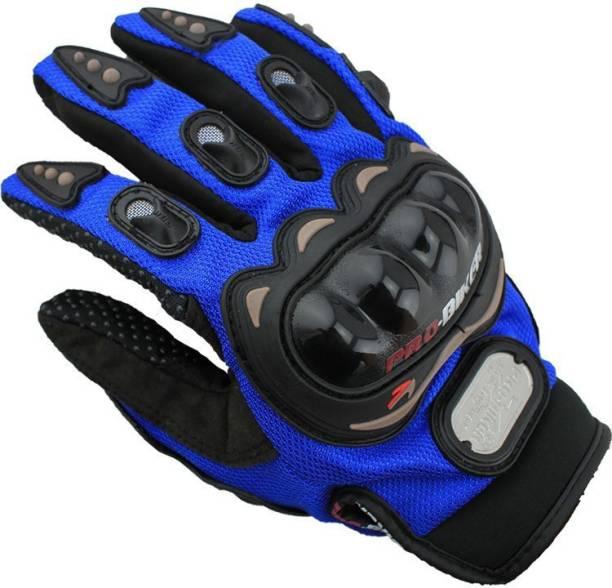meenu arts PRO-BIKER-Blu-M-XL-16 Cycling Gloves