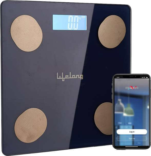 Lifelong LLWS36 Smart Weighing Scale for home use works with Smart Home App Weighing Scale