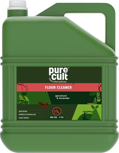 purecult Floor Cleaner 5 Ltr Infused with Geranium & Lavender Essential oils