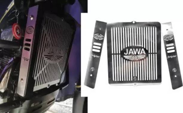 CHOKKAS Jawa 42 Fit Radiator Grill Guard Protector Grill Only Fit in JAWA 42 Bike Crash Guard