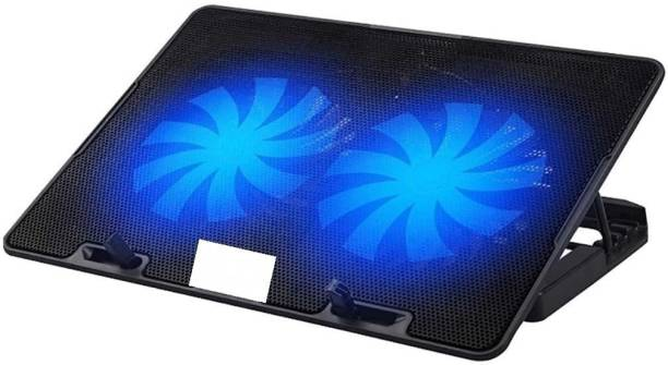 HIGH TRUSTED ChillMate Adjustable 2 Fan Cooling Pad