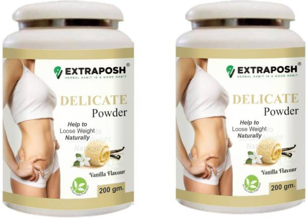 Extraposh WEIGHT MANAGING FAT LOSING DELICATE SHAPE UP SLIMMING POWDER VANILLA FLAVOUR