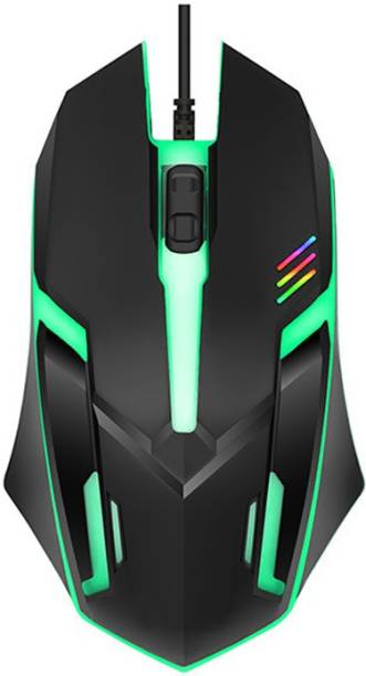 ENTWINO E1-Black001 Wired Optical  Gaming Mouse
