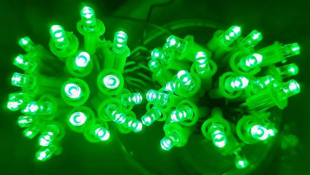 A.S.D. Electronics 336 inch Green Rice Lights