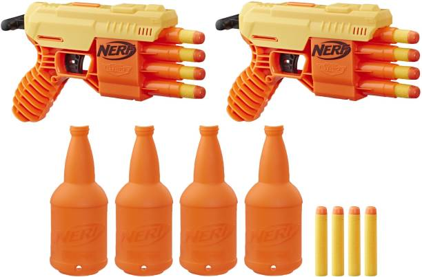 Nerf ALPHA STRIKE FANG QS 4 DUEL TGT SET Guns & Darts