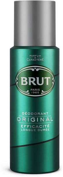 BRUT Original Deodorant for Men | Long Lasting Robust Fragrance 200ml Deodorant Spray  -  For Men