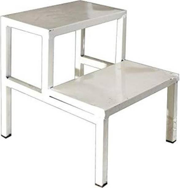 MINSHA EXPORTS Side Double Foot Step/Stool with Anti Slippery Top Medical Furniture for Hospital / Clinic / Nursing Home and Domestic Use (Double Foot Step, Standard) Hospital Food Stool