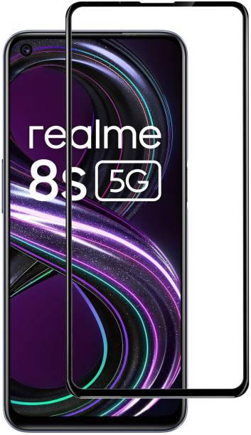 Gorilla Original Edge To Edge Tempered Glass for realme 8s 5G, realme 8 5G