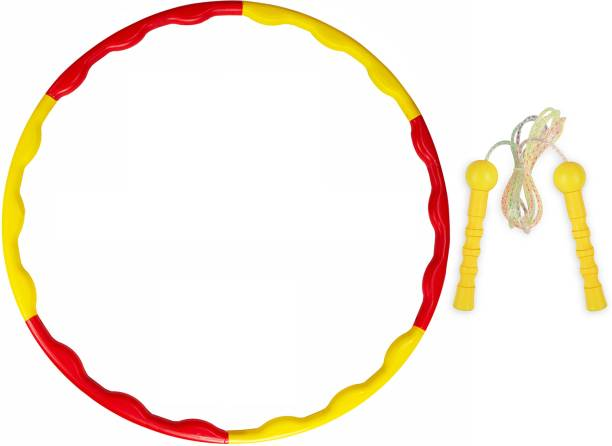 Miss & Chief Hula Hoop and Skipping Rope Combo Set for Active Kids Hula Hoop