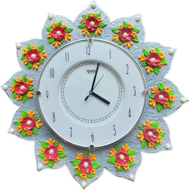 AJANTA Analog 42 cm X 42 cm Wall Clock