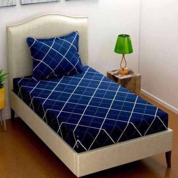 Flipkart SmartBuy 146 TC Polycotton Single Floral Bedsheet