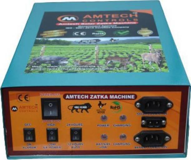 Amtech Controls AC & DC SOLAR ZATKA MACHINE/FENCE ENERGIZER FOR 40ACRE PWM Solar Charge Controller